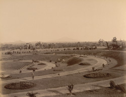 View east of the [Golf] Pavilion, No.2 [Trivandrum]